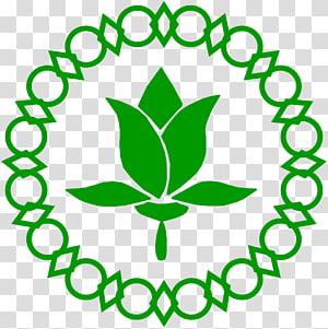 green leaf flower digital illustration, Proclamation of Indonesian Independence Paskibraka Jakarta Bendera Pusaka Symbol, cdr PNG clipart