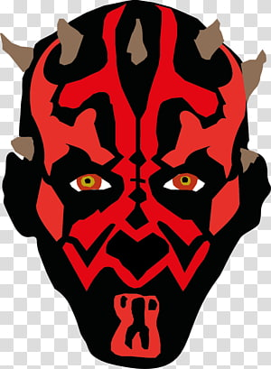 Darth Maul Drawing Illustrator , Lego head PNG