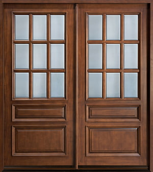 Window treatment Door Solid wood, Door PNG clipart