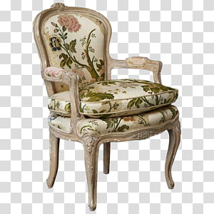 Chair Fauteuil France Table Chintz, chair PNG