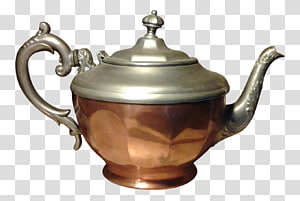Teapot Copper Manning, Bowman & Co. Pewter Kettle, teapot PNG clipart
