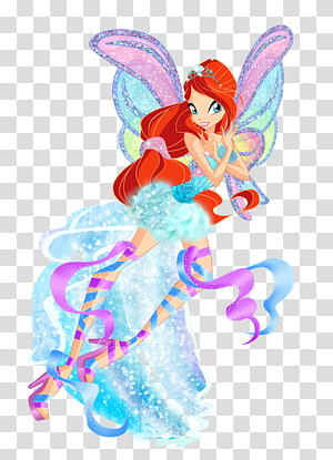 Bloom Tecna Stella Winx Club, Season 5 , winx club bloom PNG