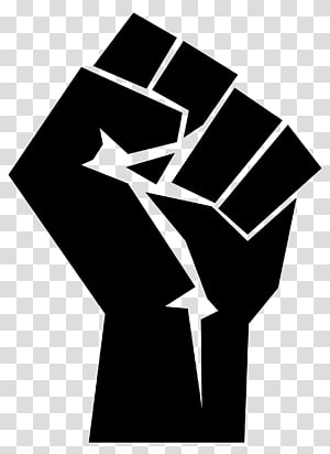 African-American Civil Rights Movement Black Power Raised fist Black Panther Party African American, fist hand PNG