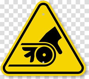 Hazard symbol Warning sign Biological hazard, hand placards PNG