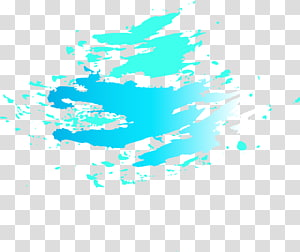 blue paint stroke illustration, Blue Graphic design Abstraction, Abstract blue graffiti PNG clipart