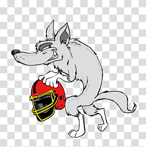 Gray wolf , Evil wolf PNG
