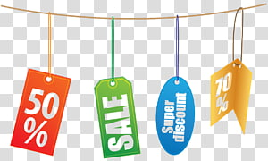 Discounts and allowances Price tag Online shopping Sales, Sale Sticker PNG