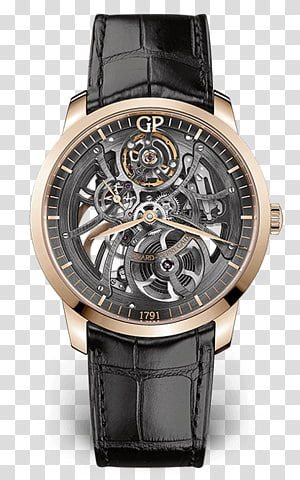 Citizen Watch Clock Mido Patek Philippe SA, 25 Cal Handled Skeleton PNG clipart