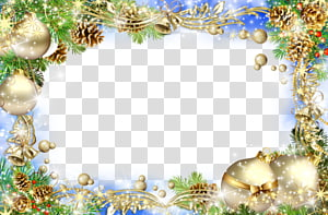 background color christmas decoration bell PNG