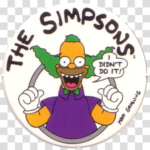 Krusty the Clown Bart Simpson Marge Simpson Krusty Gets Kancelled, Krusty The Clown PNG clipart