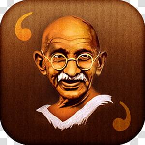 Teachings of Mahatma Gandhi 2 October Porbandar State 20th century, others PNG