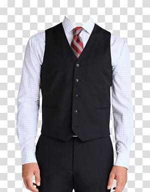T-shirt Waistcoat Suit Gilets Jacket, men\'s clothing PNG