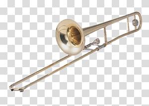 Trombone Musical instrument, Trombone PNG