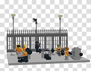 Lego Ideas LEGO 60130 City Prison Island Prisoner, prison yard PNG clipart