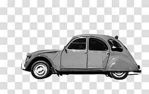 Mid-size car Citroën 2CV Car of the Century, car PNG