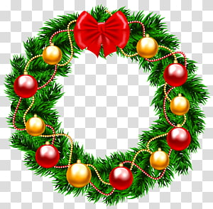 Christmas Wreaths Christmas Day Portable Network Graphics, santa claus PNG clipart