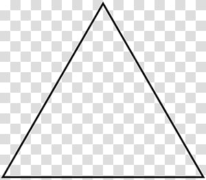Equilateral triangle Geometry Shape Equilateral polygon, triangle PNG