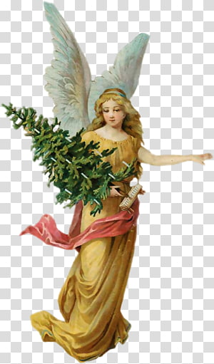 Angel Christmas tree Cherub, angel PNG clipart