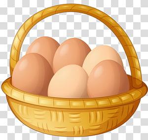 Chicken Fried egg Basket, chicken PNG clipart