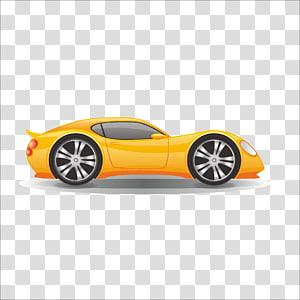 Cartoon Automotive design , car PNG