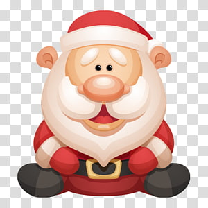 Santa Claus Village Christmas, santa claus PNG clipart