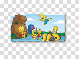 Homer Simpson Bart Simpson Drawing Lisa Simpson, Bart Simpson PNG clipart