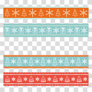 christmas lace pattern PNG clipart