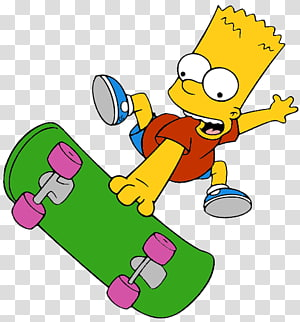 Bart Simpson Homer Simpson Maggie Simpson Marge Simpson , Barney Gumble PNG