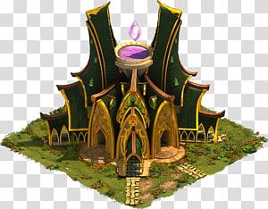 Elvenar Forge of Empires Building Elf, fantasy city PNG clipart