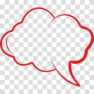 Speech balloon Comics Text Drawing Sticker, thick PNG clipart