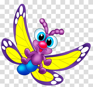Butterfly Cartoon Drawing, butterfly PNG