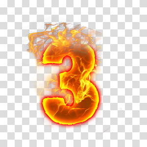 Font, number two PNG
