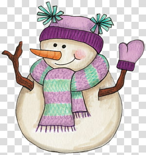 Snowman Woman , snowman PNG