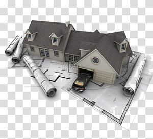 gray and black house , Architectural engineering House Architecture, Interior design PNG clipart