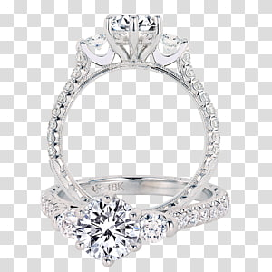 Engagement ring Wedding ring Jewellery, creative wedding rings PNG clipart
