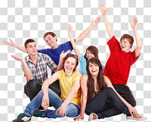 groufie , Happiness People, happy people PNG clipart
