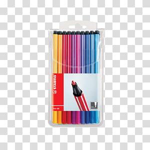 Marker pen Schwan-STABILO Schwanhäußer GmbH & Co. KG STABILO Pen 68 ColorParade blue/red Accessories Schwan-STABILO Stabilo Pen 68, pen PNG clipart