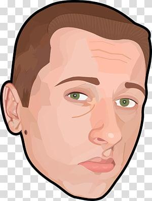 Portrait Face Man , faces PNG clipart