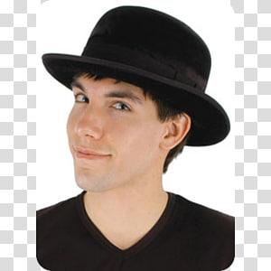Bowler hat Fedora Top hat Velvet, Hat PNG clipart