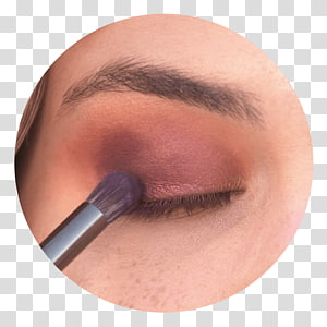 Eye Shadow Eyebrow Eyelash Close-up, golden strokes PNG clipart