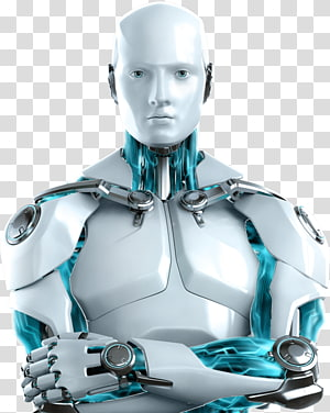 ESET Internet Security ESET NOD32 Computer Software Antivirus software, robot PNG clipart