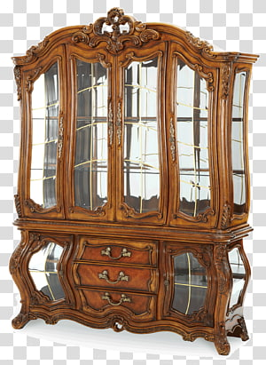 Dining room Furniture Curio cabinet Cabinetry Buffets & Sideboards, table PNG clipart