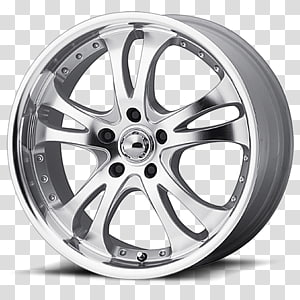 Car American Racing Rim Custom wheel, Casino coins PNG