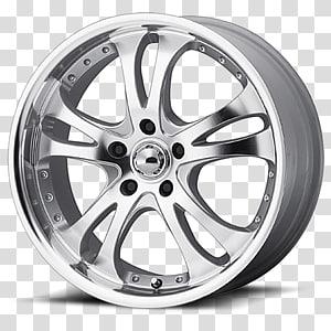 Car American Racing Rim Custom wheel, Casino coins PNG clipart