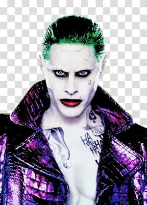 Jared Leto Joker Harley Quinn Batman The Flash, joker PNG clipart