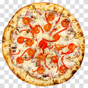 Pizza Italian cuisine Fast food Junk food Submarine sandwich, PIZZA SLICE PNG clipart
