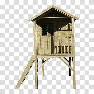 Wood Garden Tree house Swing, wood PNG