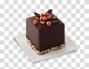 Chocolate cake Sachertorte Petit four Praline, bakery products PNG
