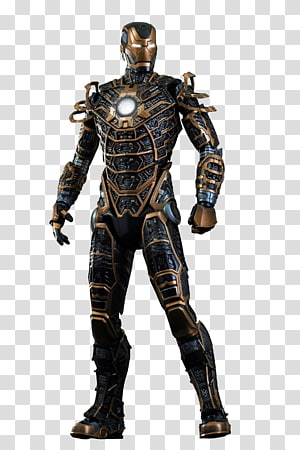 The Iron Man Action & Toy Figures Hot Toys Limited Iron Man\'s armor, ironman PNG