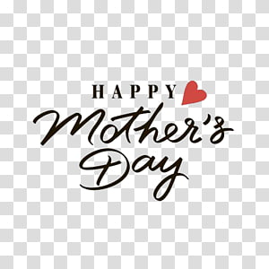 happy mother's day text, Mothers Day Wish Greeting card , Happy Mothers\' Day PNG